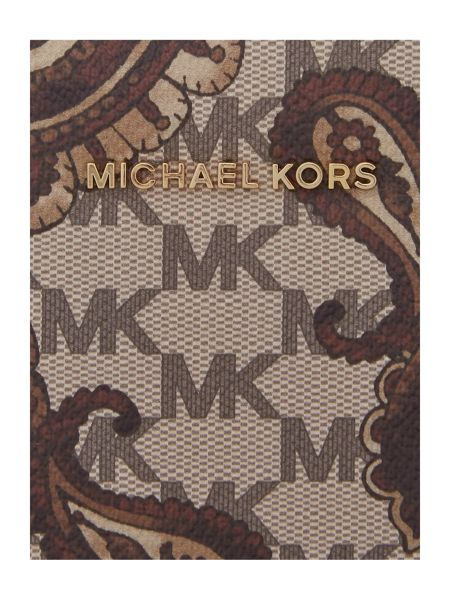 Michael Kors Paisley Tan large tote bag