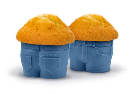 Fred Muffin Cases `Muffin Tops` Design, Set of 2