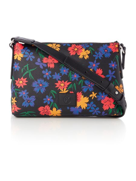 Paul Smith London Floral multicolour small crossbody bag