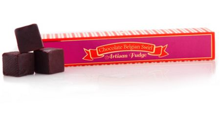 Be Sweet Co Chocolate belgium swirl fudge 130g