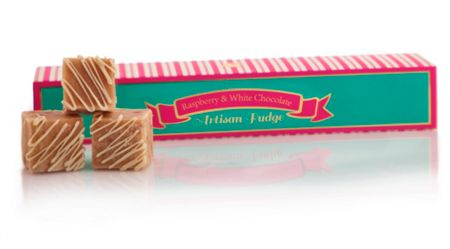 Be Sweet Co White chocolate & raspberry fudge 130g