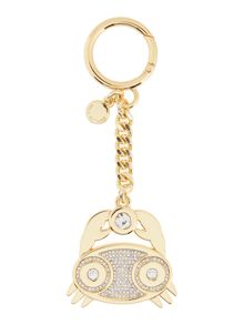 Michael Kors Zodiac cancer gold keyring