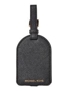 Michael Kors Black luggage tag