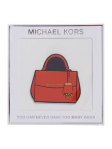 Michael Kors Never have too many handbags sticker