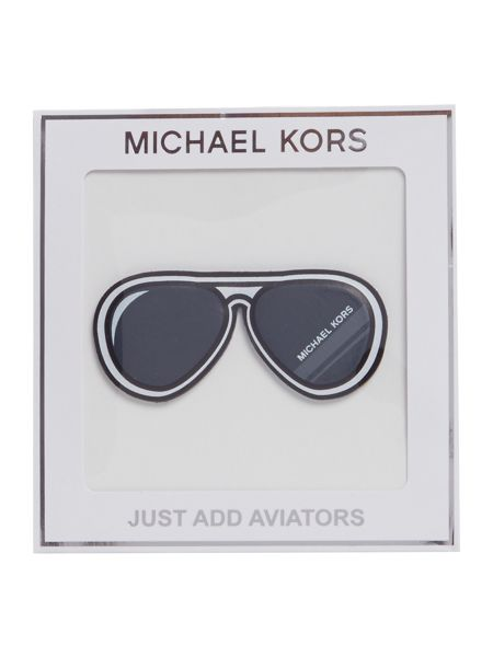 Michael Kors Aviator sticker