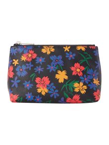 Paul Smith London Floral multicolour medium cosmetic bag