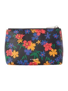 Paul Smith London Floral multicolour medium make up bag