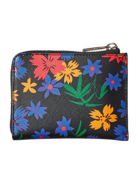 Paul Smith London Floral multicolour small coin purse