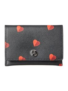 Paul Smith London Heart black small cardholder