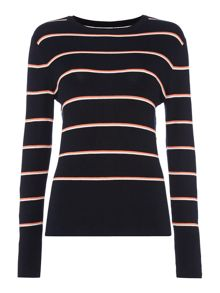Therapy Sila Multi Stripe Jumper