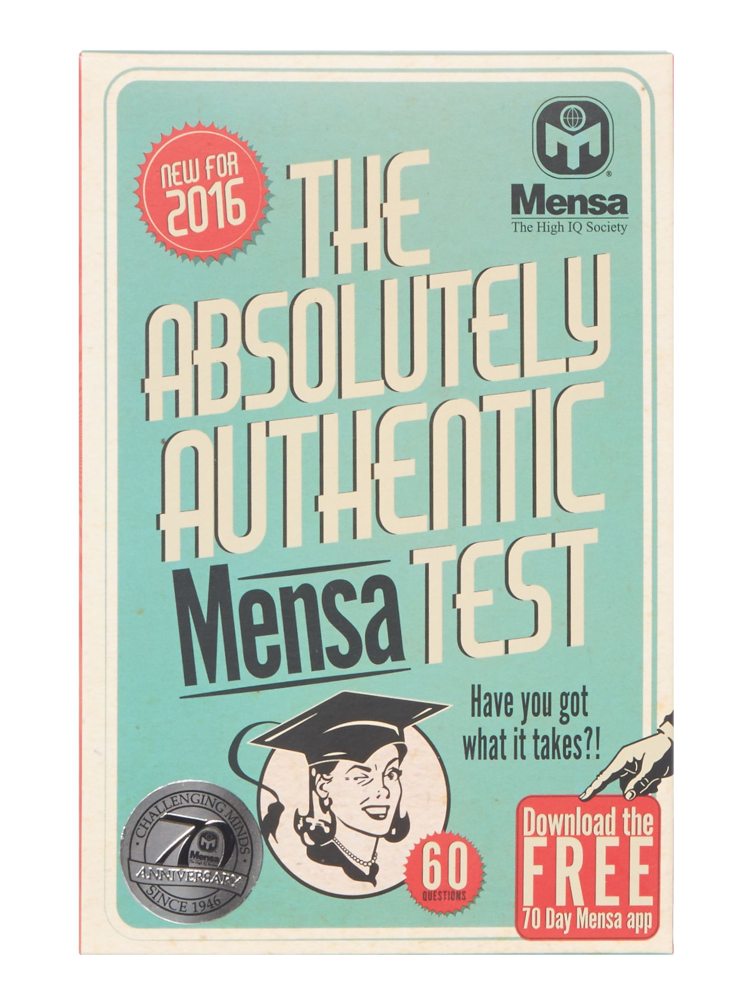 Mensa Mensa The Absolutely Authentic Mensa Test