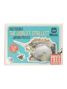Mensa The Worlds Smallest Jigsaw Puzzle