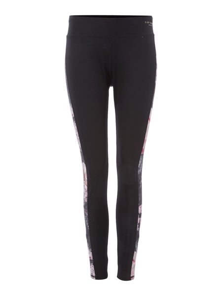 Ted Baker Printed panelled long leggings