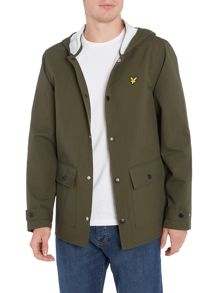 Lyle and Scott Hooded Raincoat
