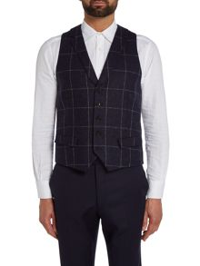 WP Waistcoat Moon Windowpane Check