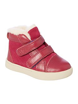 Girls Double Strap Trainers