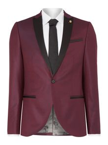Noose and Monkey Skinny Peak Lapel Tuxedo Jacket