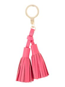 Kate Spade New York Double Leather Tassle Key Fobs