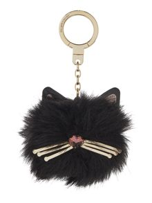 Kate Spade New York Cat Pom Pom Key Fobs