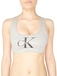 Calvin Klein Retro bralette lightly lined