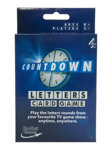 Esdevium Countdown letters card game