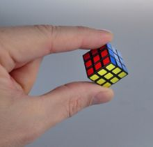 Esdevium World`s smallest rubik`s cube