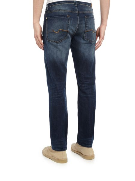 7 For All Mankind Slimmy foolproof avenue mid blue jeans