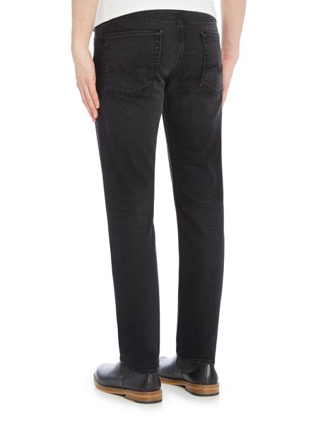 7 For All Mankind Slimmy foolproof avenue black jeans