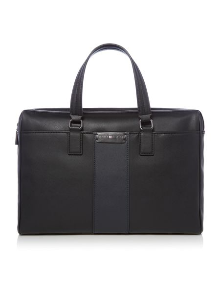 Tommy Hilfiger Solid Story Two Tone Laptop Bag