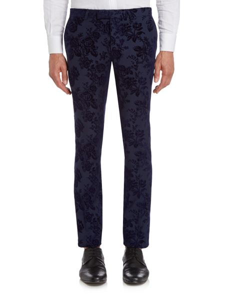 Noose and Monkey Skinny Tuxedo Trousers