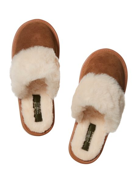 Barbour Victoria mule slipper
