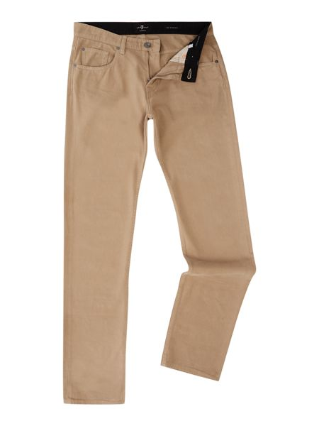 7 For All Mankind The straight cashmere colour jean