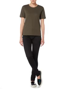 Therapy Raw Edge Detail Top