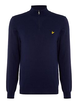 Merino ¼ Zip Jumper