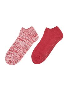 Calvin Klein Holiday luxury 2 pair pack trainer socks