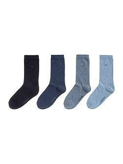 Holiday 4 pair pack ankle socks
