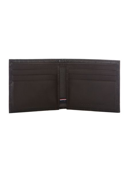 Tommy Hilfiger Tailored Croc Mini Bifold Wallet
