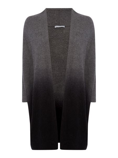 Repeat Cashmere Graduated Colour open cardigan