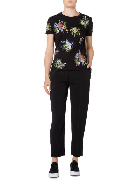 Sportmax Code relaxed fit trouser with pocket detail