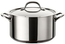 Circulon Ultimum stainless steel 24cm stockpot, 5.7l