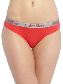 Calvin Klein Radiant cotton bikin 3 pack