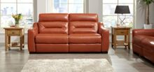 La-Z-Boy Tara Leather 3 Seater Static Sofa