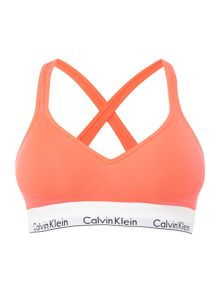 Calvin Klein Modern cotton bralette lightly lined