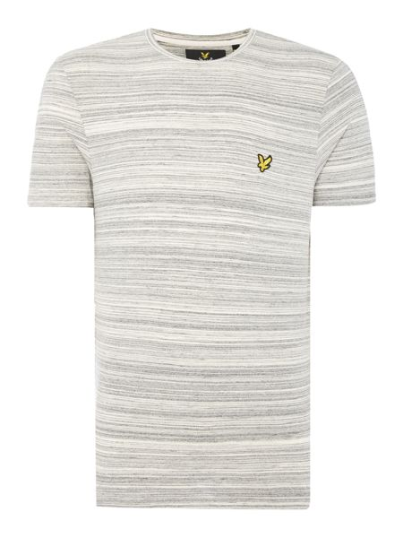 Lyle and Scott Short Sleeve Space Dye Cre Neck T-Shirt