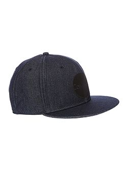 Malt denim look logo cap
