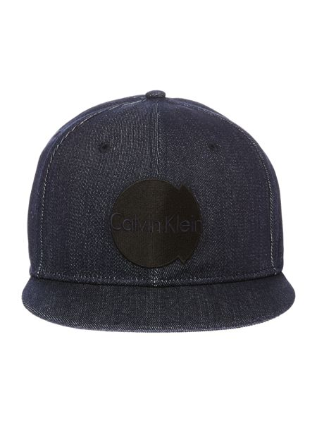Calvin Klein Malt denim look logo cap