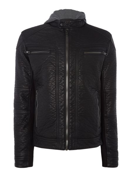 Calvin Klein Mount hd mixed media jacket