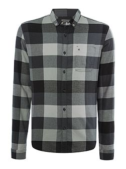 Wasia 2 bd big check shirt ls