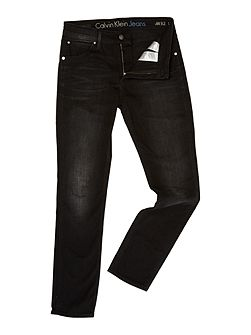 Sculpted slim - metal black jeans