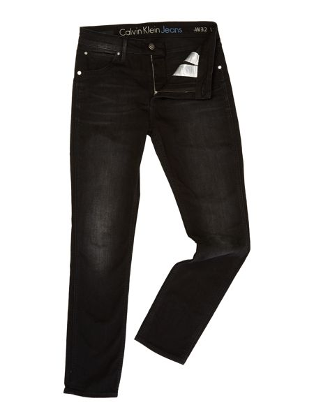 Calvin Klein Sculpted slim - metal black jeans